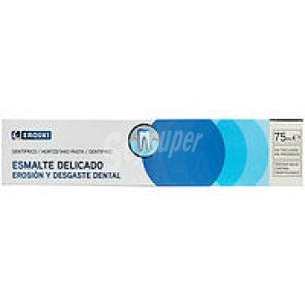 Eroski Dentífrico Esmalte Delicado 75 ml