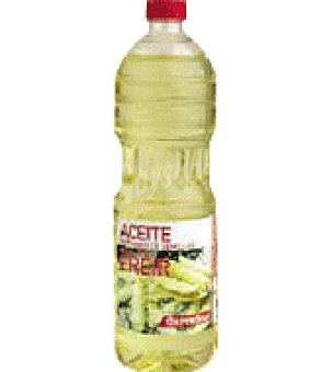 Carrefour Aceite refinado de semillas 0, 2 º especial para freir Botella de 1 l