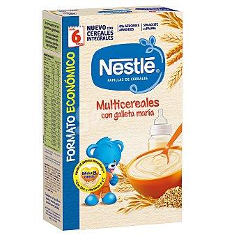 Nestlé Papilla multicereales con galleta maría 500 g