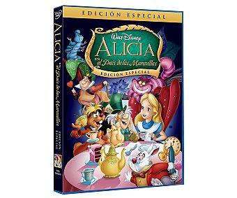 ANIMACIÓN Película en Dvd Alicia en el país de las maravillas, edición especial, Disney. Género: infantil, familiar, animación. Edad: TP