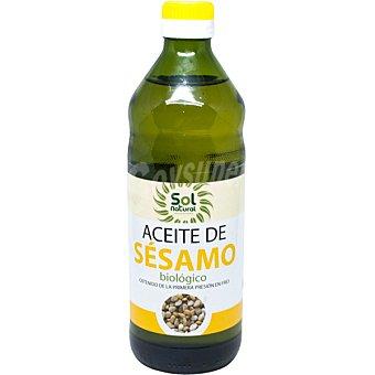 Solnatural Aceite de sésamo ecológico botella 500 ml 500 ml