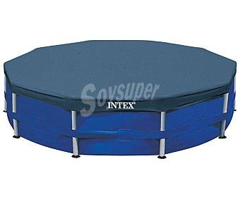 Intex Cubre piscinas con vuelta para piscinas tubulares 4,57 metros INTEX