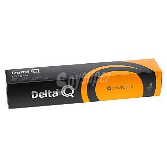 Delta Q Café molido natural en cápsulas Qonvictus 10 unidades de 5,5 g