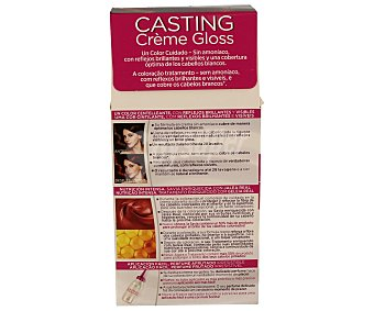 Casting Crème Gloss L'Oréal Paris Tinte sin amoniaco chocolate picante Nº 554 casting crème gloss de l´oreal 1 unidad 1u