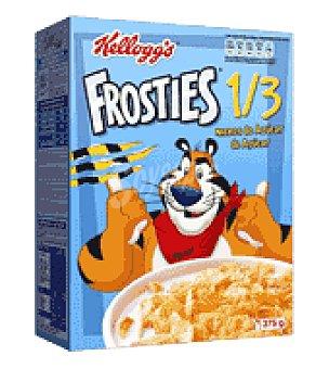 Frosties Kellogg's Bajos en azúcar: Copos de maiz tostados y azucarados Frosties 375 g