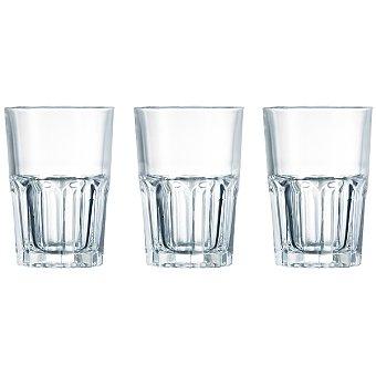 LUMINARC America vasos de vidrio 40 cl set de 3 unidades 40 cl