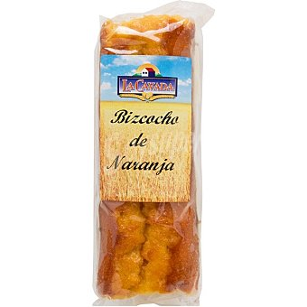 La cavada Bizcocho de naranja Envase 380 g