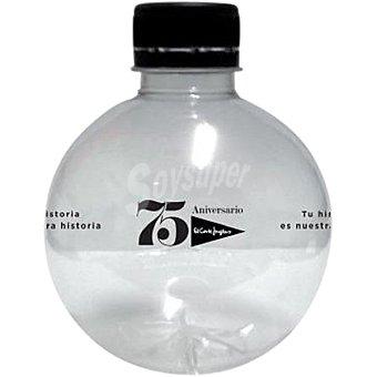EL CORTE INGLES 75 ANIVERSARIO agua mineral natural botella Edición Especial 33 cl