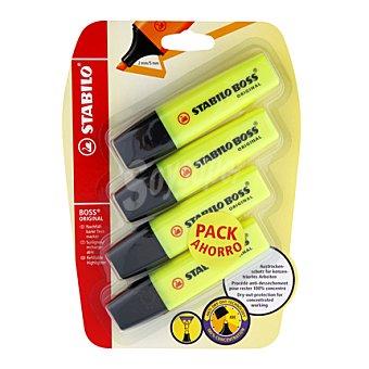Stabilo Pack Ahorro Stabiloboss 4 ud