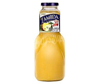 Lambda Néctar de pera y piña con pulpa sin azúcares añadidos Botella 1 l