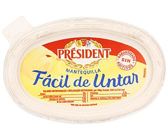 President Mantequilla fácil de untar Tarrina 250 g