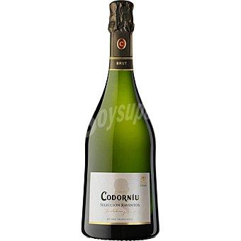 Codorníu cava brut nature Selección Ráventos botella 75 cl