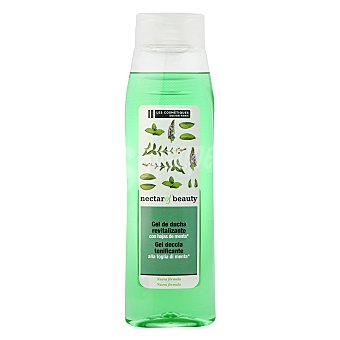 Les Cosmétiques Gel de ducha revitalizante con hojas de menta 750 ml
