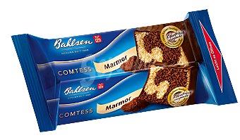 BAHLSEN Comtess Marmor Cake chocolateado Paquete 350 g