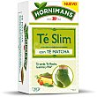 Té silueta (té verde con frutas aromatizadas) 20 uds Hornimans