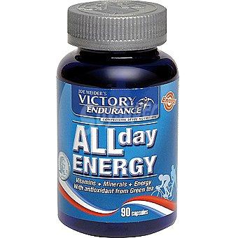 VICTORY ENDURANCE All Day Energy Suplemento de vitaminas y minerales Envase 90 capsulas