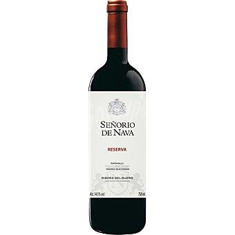 Señorio de Nava Vino tinto reserva D.O. Ribera del Duero Botella 75 cl