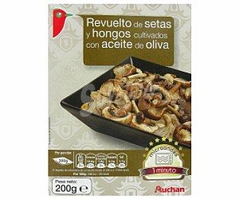 Auchan Revuelto setas y hongos cultivados con aceite de oliva 200 Gramos