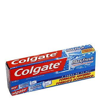 Colgate Max Fresh Dentífrico Max Fresh Cool Mint Tubo Duplo Pack 2x75 ml