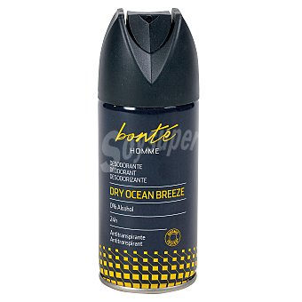 Bonté Desodorante men dry ocean breeze spray 150ml Spray 150ml
