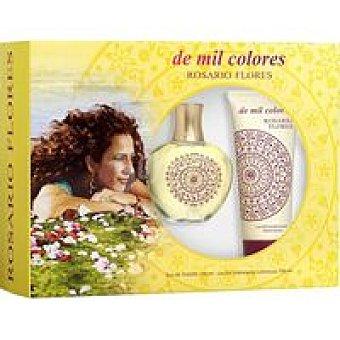 ROSARIO FLORES Mil Colores Colonia Vaporizador 100 ml + Loción