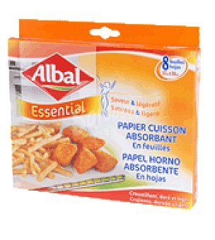 Albal Papel horno absorbente 8 ud