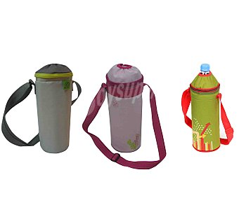 Auchan con bolsa isotérmica para poder llevarla a cualquier sitio de forma cómoda auchan Botella de 1.5l