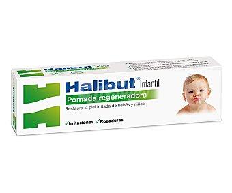 HALIBUT Pomada regenerador, restaura la piel irritada de bebés y niños 45 Gramos
