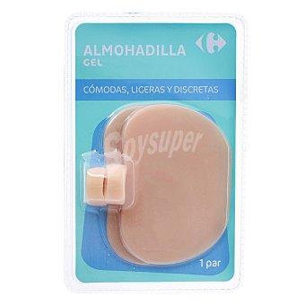 Carrefour Almohadilla de gel para durezas en los pies 1 ud 1 ud