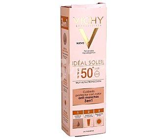 Vichy Ideal Soleil Crema solar anti manchas con FPS 50 (muy alto) especial para piel sensible 50 ml