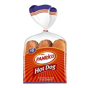 Panrico Hot Dogs Brooks 6 ud. 330 g