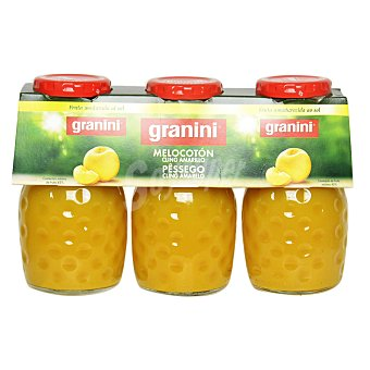 Granini Néctar de melocotón Pack 3 botellas 20 cl