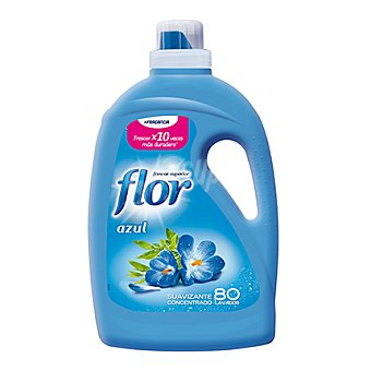 Flor Suavizante concentrado Azul 80 lavados