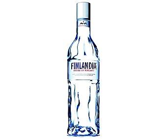 Finlandia Vodka blanco finlandés elaborado con seis tipos de cebada y agua pura de glacial botella de 1 l