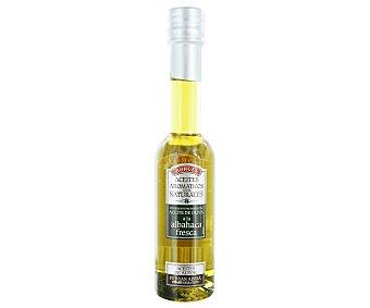 Borges Condimento de aceite de oliva a la albahaca fresca Botella 200 ml