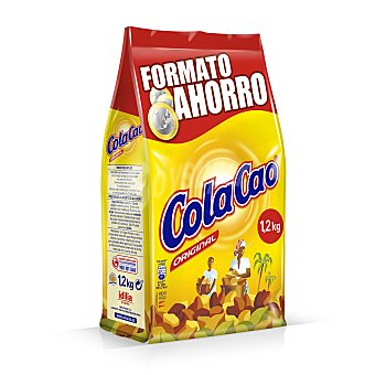 Cola Cao Cacao soluble  Paquete 1.2 kg