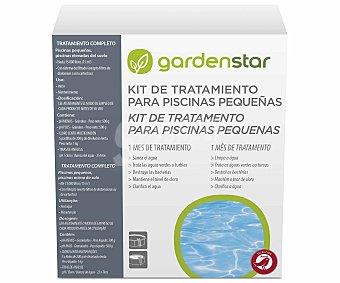 GARDEN STAR ALCAMPO Kit de tratamiento piscinas pequeñas 2KG, Alcampo.