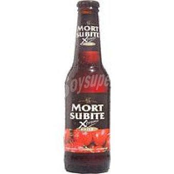 MORT SUBITE Xtreme Cerveza de cereza Botellín 25 cl