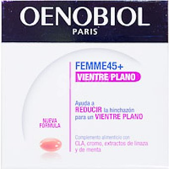 OENOBIOL Femme 45 + vientre plano en cápsulas Caja 60 unid