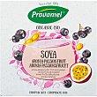 Bio postre de soja ecológico sabor aronia y fruta de la pasión pack 4x125 envase 500 g Pack 4 Provamel
