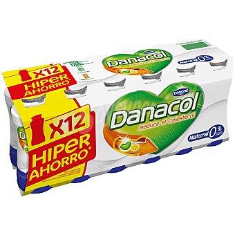 Danacol Danone Danacol para beber natural 12 unidades de 100 g