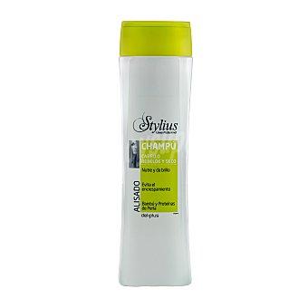 Deliplus Champú cabello alisado stylius (tapón verde) Botella 400 cc