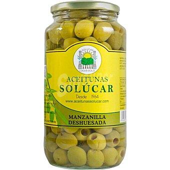 Solucar Aceitunas manzanilla deshuesadas Frasco 550 g neto escurrido