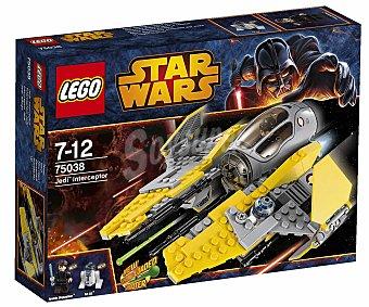 LEGO Juego de Construcción Stars Wars, Jedi Interceptor, Modelo 75038 1u