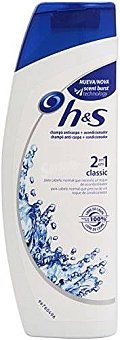 h&s Champú Clasico 2 En 1 270 ML