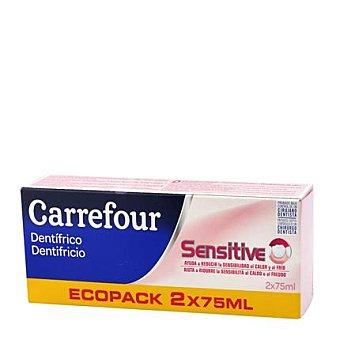 Carrefour Dentífrico para encias Pack 2x75 ml