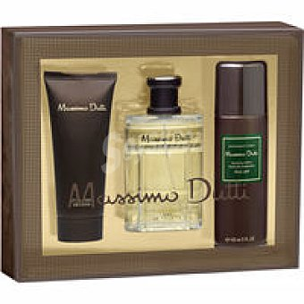 Massimo Dutti Colonia-After Shave-Desodorante Pack 1 unid