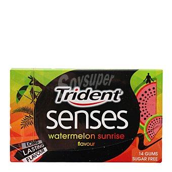Trident Chicles sensaciones de sandía 14 ud