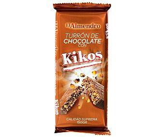EL ALMENDRO Turrón de chocolate con kikos 150 Gramos