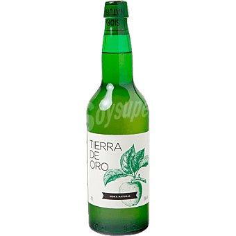 TIERRA DE ORO Sidra natural elaborado para grupo El Corte Inglés  botella 70 cl